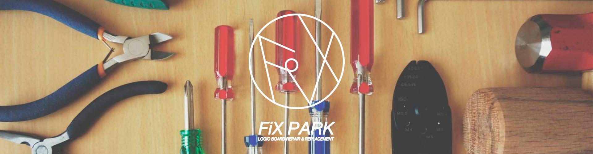 FiX PARKのサイトトップ画像